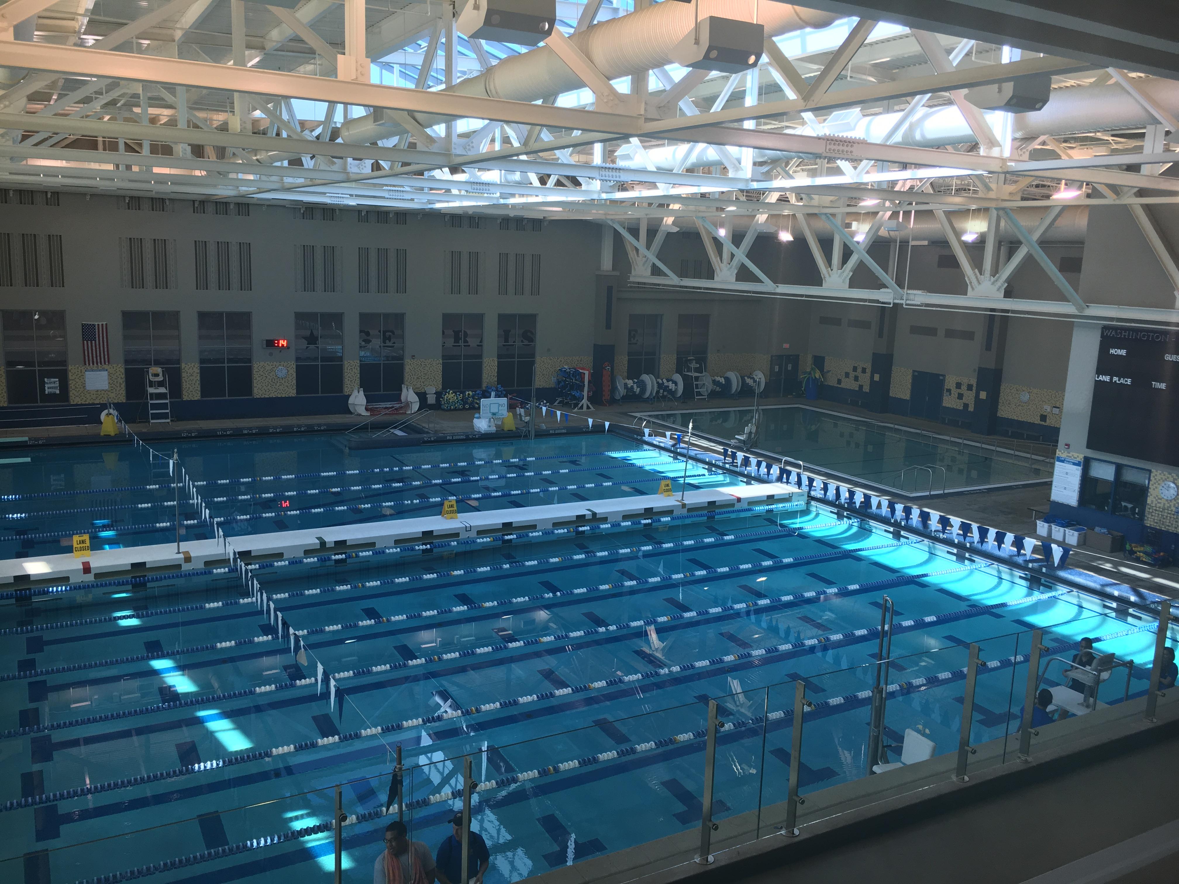 Washington Lee Aquatics Center Arlington Public Schools