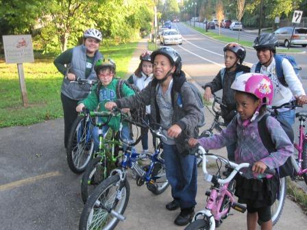 APS Goes Green - Bike To School