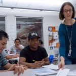 REEP English classes for adults teacher students in class
