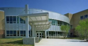 Kenmore Middle School Main Entrance