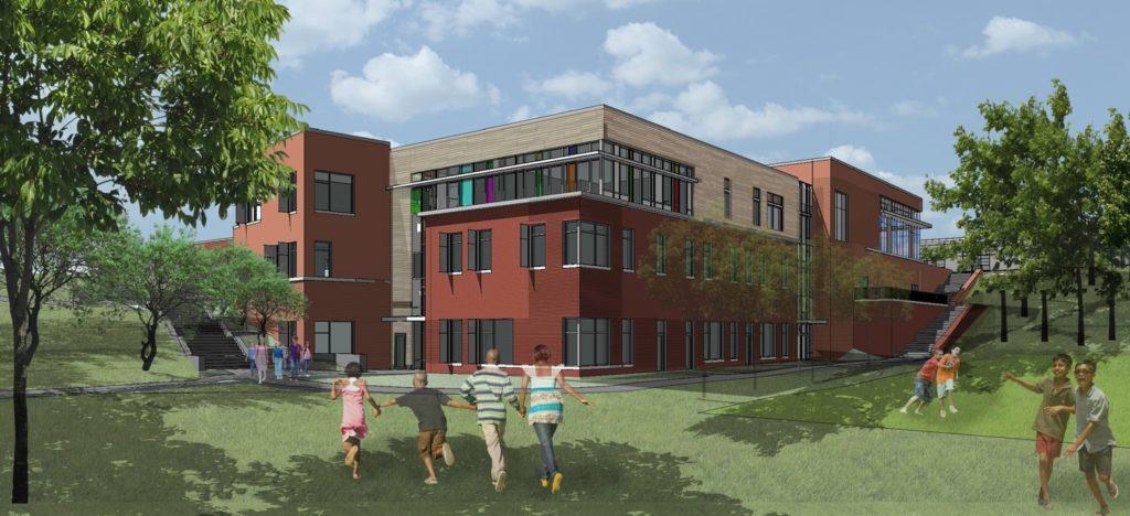 McKinley Elementary HCM rendering Northeast View
