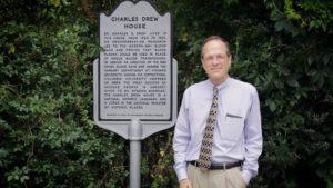Charles Drew House Historical Marker