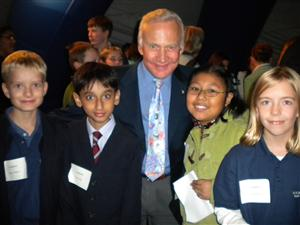 Barrett Students Meet Apollo 11 Astronaut Buzz Aldrin