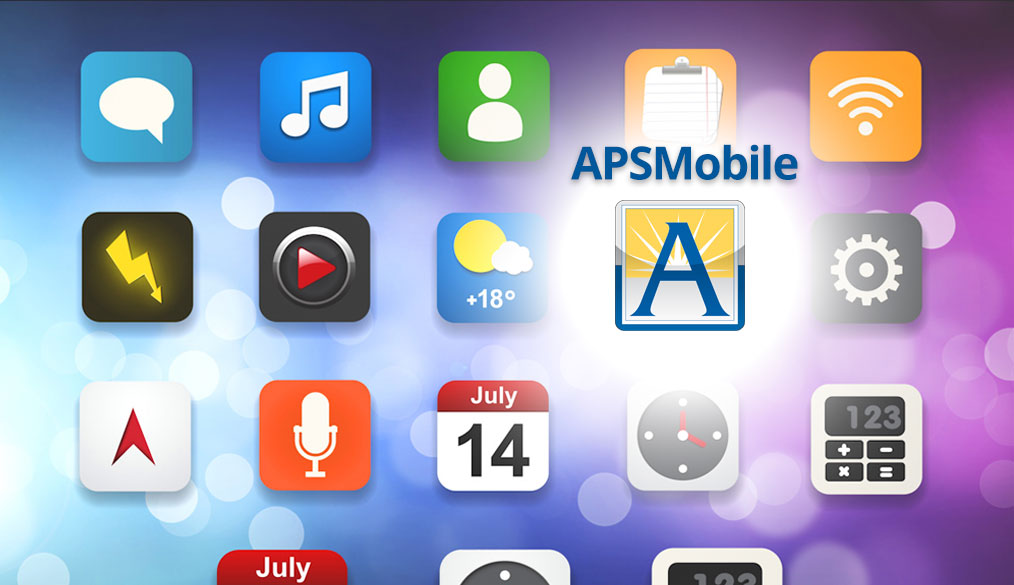Download the APS Mobile APP