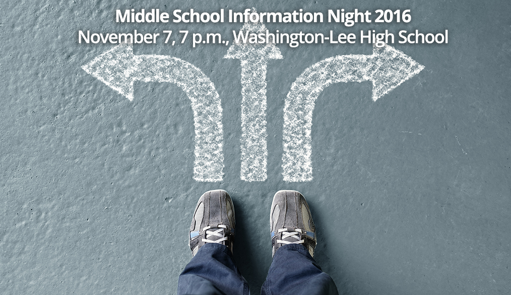 Middle School Information Night to be Held on Nov. 7