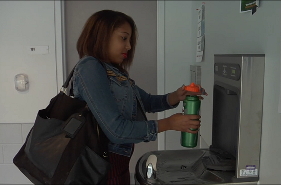 New Water Filling Stations Saving the Environment and Money