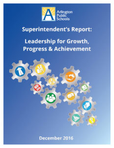superintendent's report Dec. 2016
