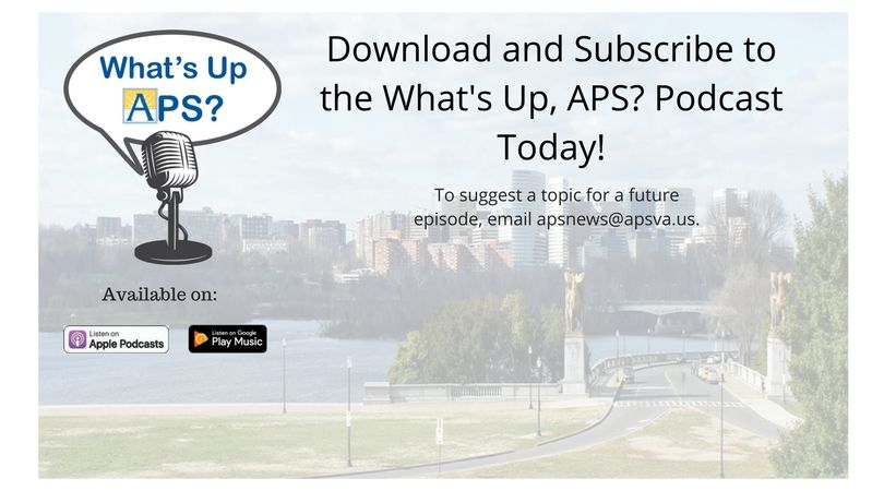 Download and Subscribe to What's UP, APS?