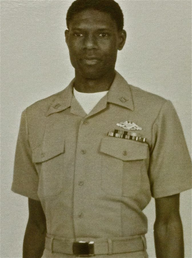 Commander James Lander, Engineering Duty Office_United States Army_22 Years Active&Reserves