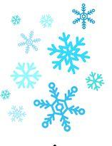 snowflake clip