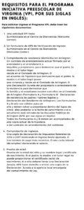 VPI Spanish-Req