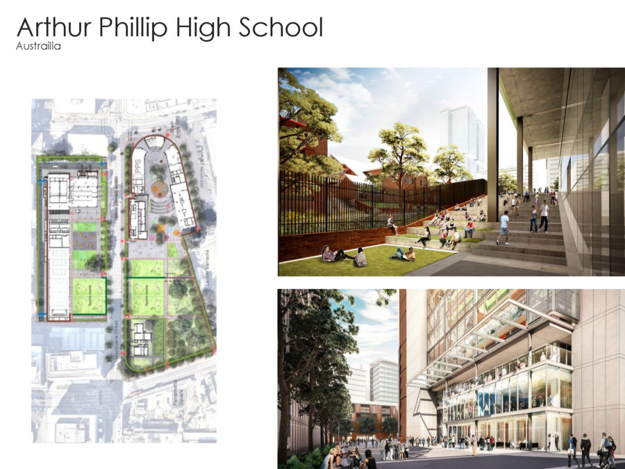 CCWG examples of high school design 20