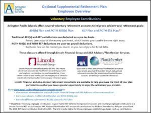 Supplemental Retirement Program snippet