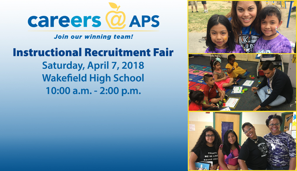 Come to the Instructional Recruitment Fair!