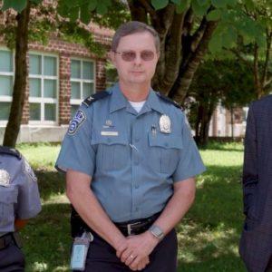 Chief Farr, Superintendent Murphy and Sergeant Brockenborough