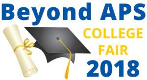 Beyond APS: College Fair 2018