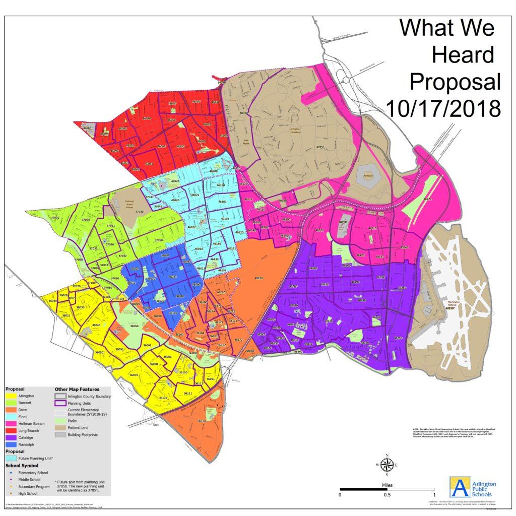 """What We Heard"" Fall 2019 Elementary School Boundary"