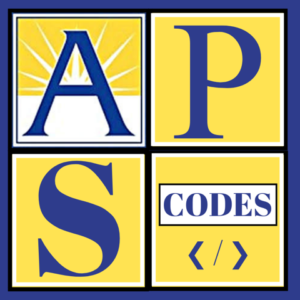 APS Codes logo
