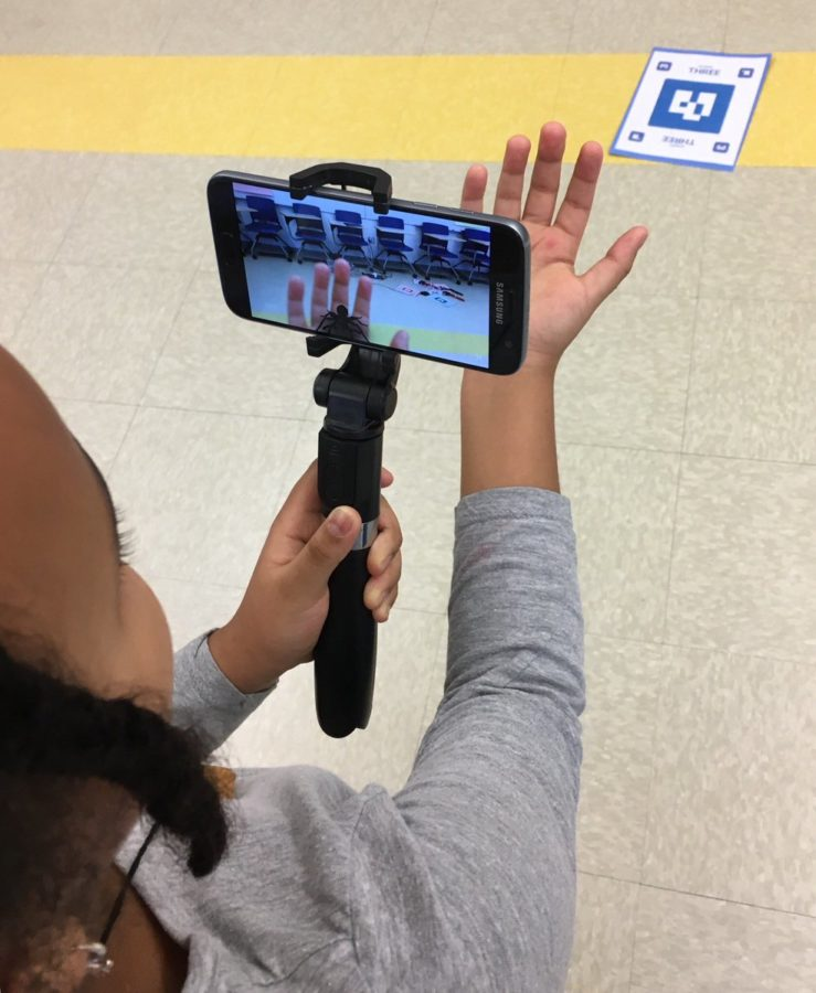 Augmented Reality with Google Expeditions
