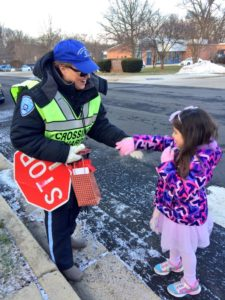 Jamestown Crossing Guard