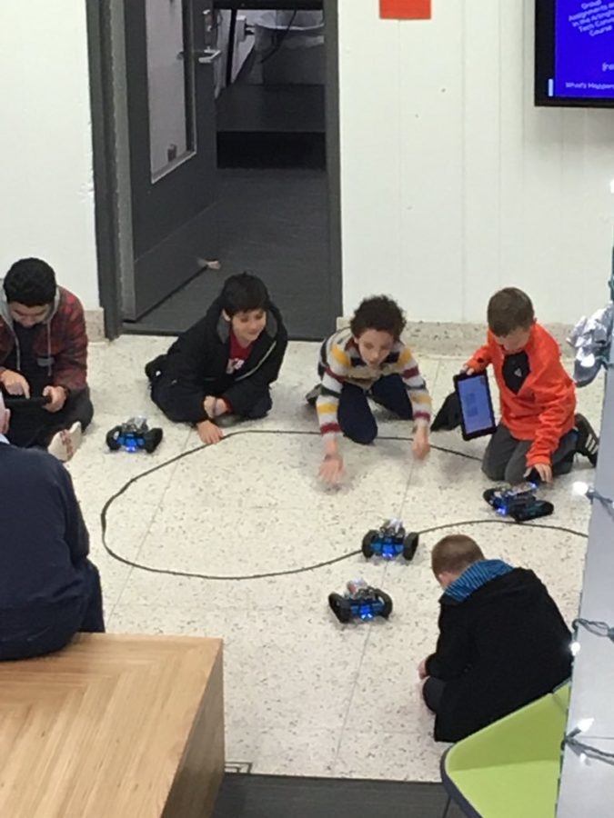 Students Program and Test mBlock Robots