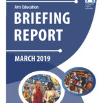 Arts Education March 2019 briefing report cover