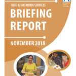 Food & Nutrition Services Nov 2018 briefing report cover