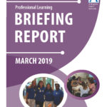 Professional learning March 2019 briefing report cover