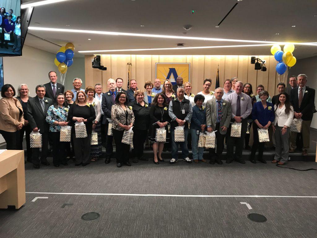 2019 Service Awards 25 years