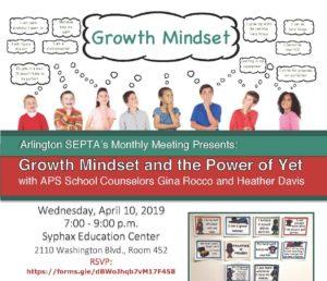 Growth mindset flier image