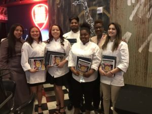 Career Center Culinary Arts Students