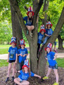 Glebe Elementary School's Odyssey of the Mind teams