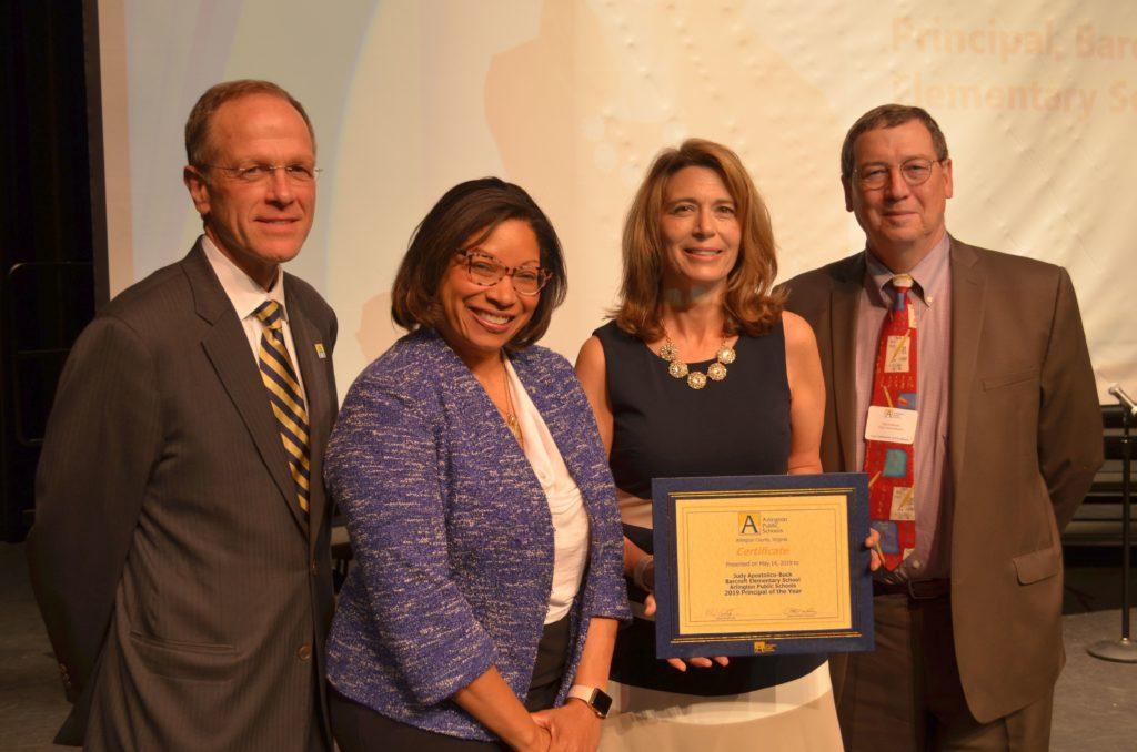 Principal of the Year Speech - Arlington Public Schools