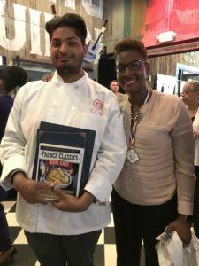 Culinary Arts Student Sajith Udumalaga