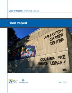 career center working group report cover