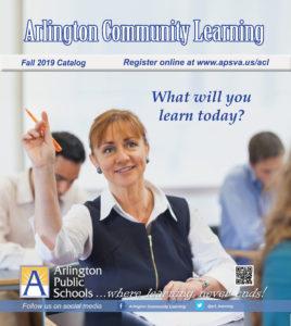 arlington community learning catalog cover