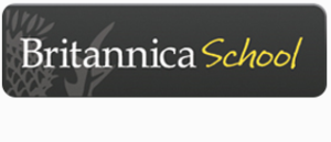 Britannica database icon with link to database