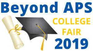 Beyond APS: College Fair 2019