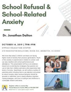 School Refusal & School-Related Anxiety