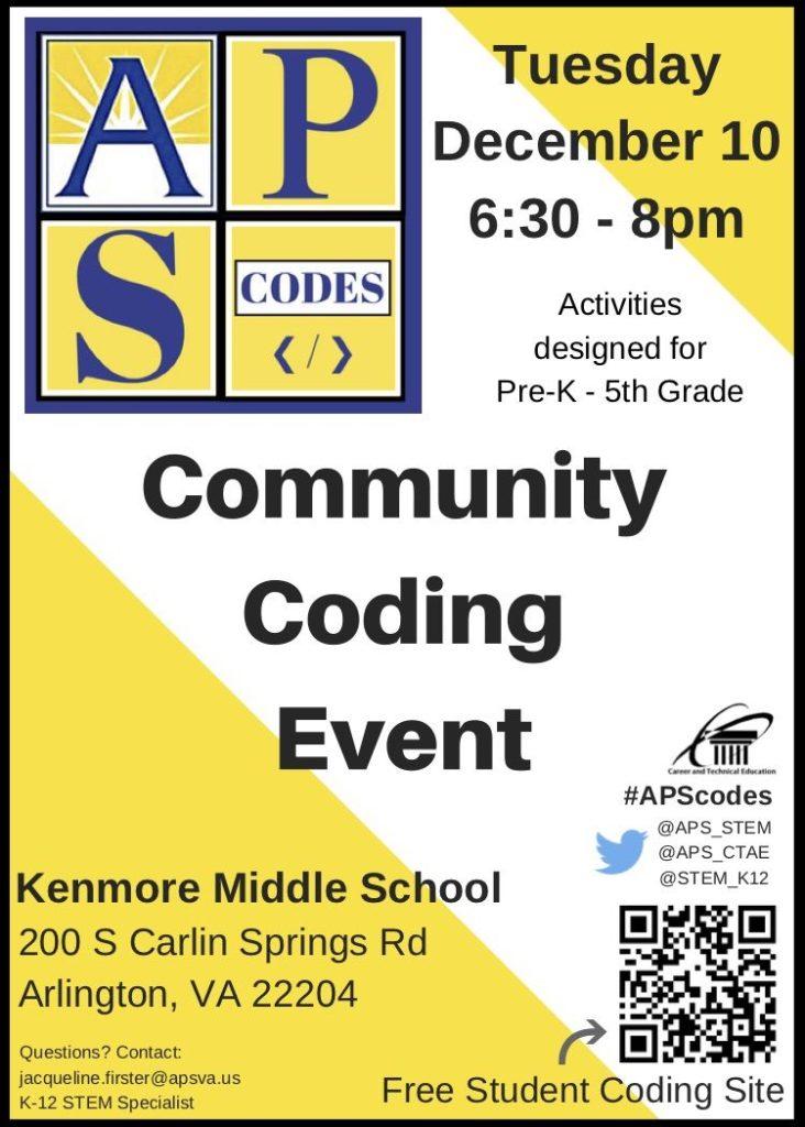 JPG 2019 Community Coding Event Flyer