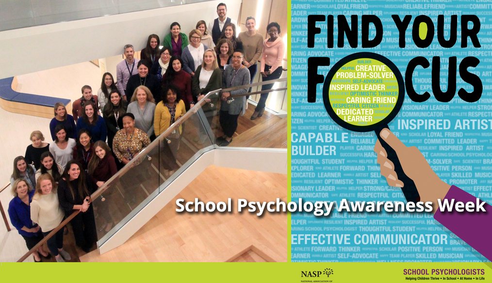 It's School Psychology Awareness Week