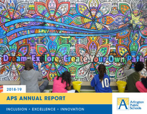 APS Annual Report 2018-19 cover