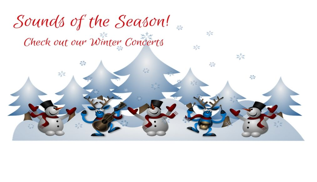 Sounds of the Season Winter Concerts