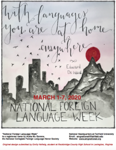 National Foreign Language Week 2020