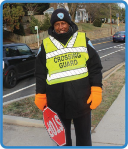 2019 Outstanding Crossing Guard Zeleke Tafesse