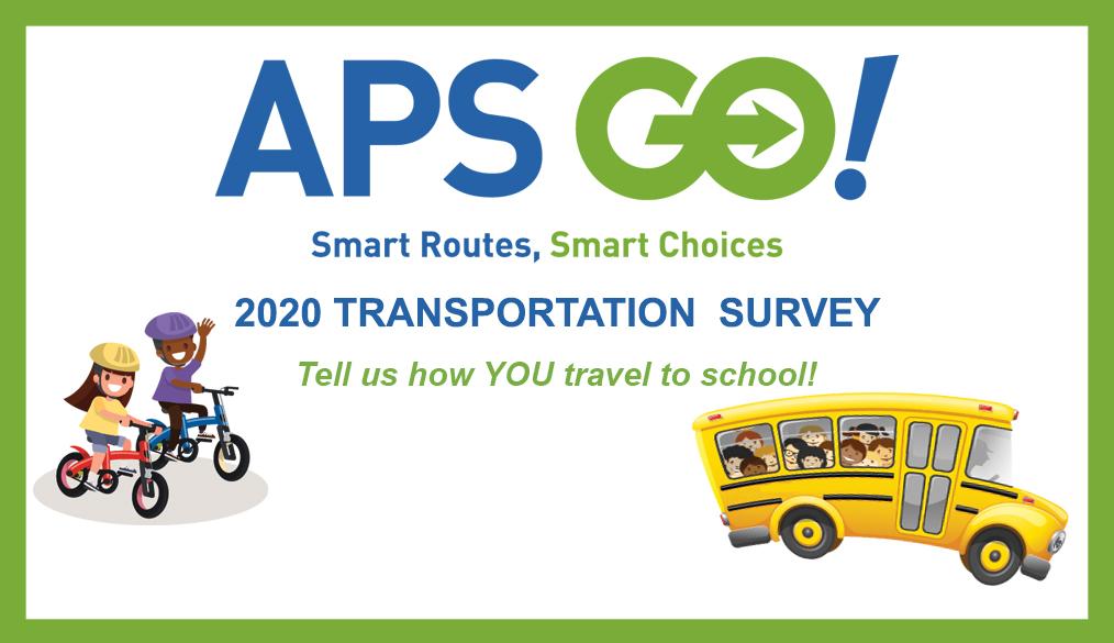 APS Go 2020 transportation Survey logo