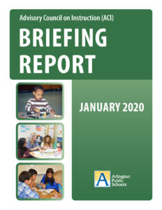 cover of ACI briefing report