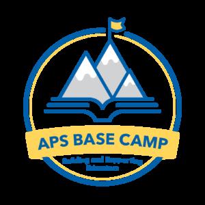 APS شعار Basecamp - بناء المعلمين ودعمهم (BASE)