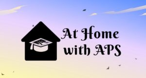 At Home with APS Video Series Logo
