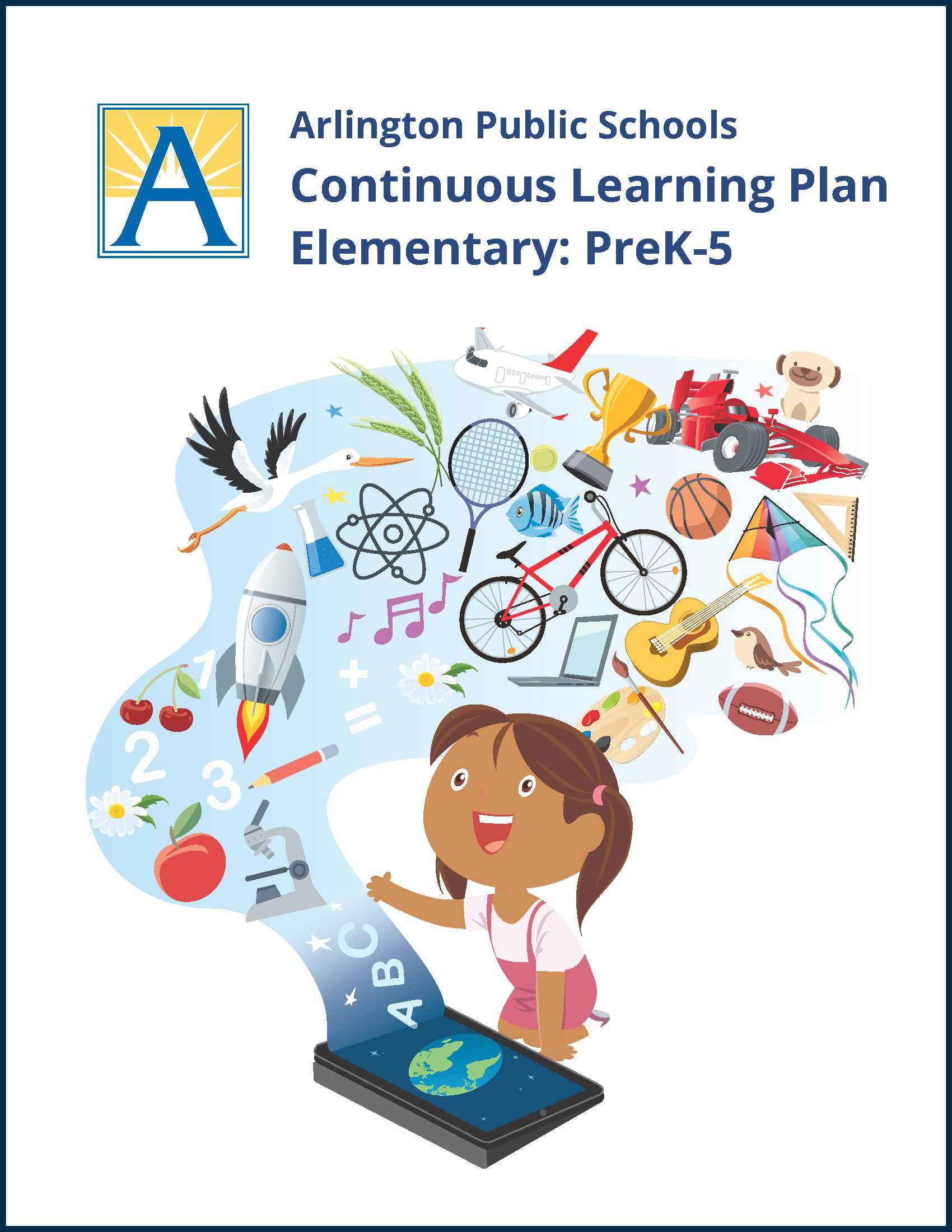 cover of APS Continuous Learning Plan: Elementary PreK-5